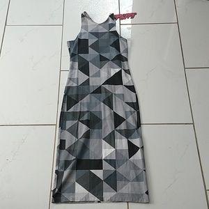 Motel Kaleidescope Midi Bodycon Dress NEW